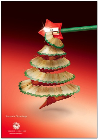 Christmas tree - Publicis Singapore