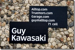 Guy Kawasaki Card