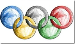 Olympic condom rings (source: www.yesbutnobutyes.com)