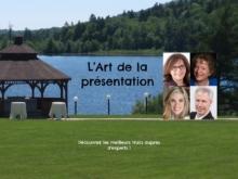 Journée d'ateliers : L'Art de la présentation