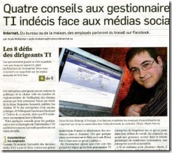 Télécharger l'article du Journal Les Affaires (Nicolas Roberge)