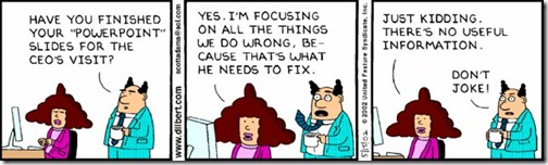 dilbert fun about powerpoint presentation denis francois gravel