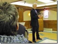 Denis Francois Gravel en conference au Reseau META