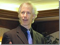Denis Francois Gravel conference devant Reseau META