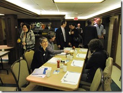 Les Participants arrivent - Reseau META