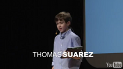 Picture of Thomas Suarez at TEDx