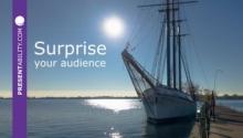 Surprise your audience as Toronto surprised me